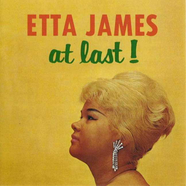 "Etta James ""At Last"" album cover (Chess Records)"