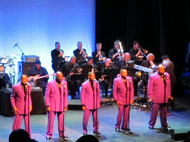 The Temptations perform at the Wheeler Opera House in Aspen, Colorado