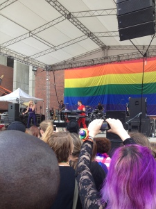 Karmin rocks Boston Pride