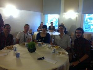 PTI- Welcome Dinner Photo Henry IV, Meghan, Joey, Zach