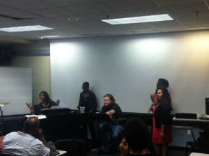 Charyn Harris (A Place Called Home) Singers and the Ensemble Session
