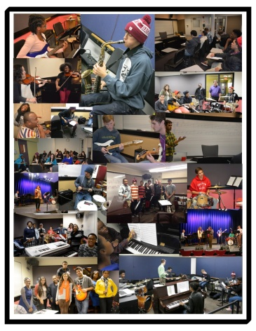 City Music Mentoring Program Collage