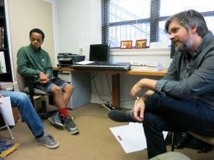 Matt teaching his Saturday Composition Seminar at CMS Raleigh